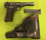 FN Herstal 10/22 con fondina, 7,65 Browning
