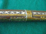Jezail Fucile a pietra con legno intarsiato in madreperla