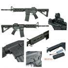 King Arms FUCILE SOFTAIR ELETTRICO S&W M&P15 MOE FULL METAL -