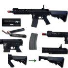 Specna Arms FUCILE SOFTAIR ELETTRICO FULL METAL M4 CQB SA-A05 FULL METAL-