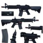 Specna Arms FUCILE SOFTAIR ELETTRICO M4 CQB SA-B05 FULL METAL