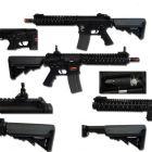 Specna Arms FUCILE SOFTAIR ELETTRICO M4 SA-A03 FULL METAL