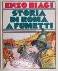 LIBRO STORIA DI ROMA A FUMETTI
