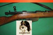 Carcano 91/38 con baionetta