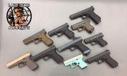 Glock 17, 19, 21, 43, 41, 26, 34 - 4 GEN