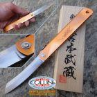 Kanekoma Higonokami - Big Kanekoma Damascus - Miyamoto Musashi Pocket Knife Japan