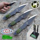 Master Cutlery Master Cutlery - Green Hornet - Set Coltelli da Lancio di Kato - MC-GH01 - coltello