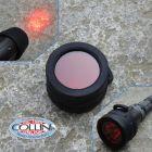 Nitecore Nitecore - NFR40 - Filtro Rosso da 40mm per MH25GT, MH27 ed MH27UV - Accessori Torce Led
