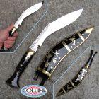 "Nepal Kukri Kukri Artisan - Dhankute 11 ""horn - Nepalese knife"