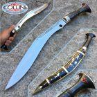 Nepal Kukri Kukri Artigianale - Dhankute Silver - coltello nepalese