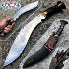Nepal Kukri Kukri Artigianale - Ganjawal multiuso 18 corno - coltello nepalese