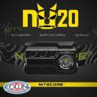 Nitecore Nitecore - NU20 - Black - Frontale Ricaricabile USB - 360 lumens e 80 metri - Torcia Led