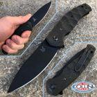 Fox Fox - Ziggy Folder knife by Jens Anso - Blackwash Carbon Fiber - FX-308CFB - coltello