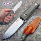 Lion Steel Lionsteel - B40 Bushcraft Knife - Micarta Verde - B40CVG - coltello