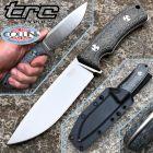 TRC Knives TRC Knives - South Pole Knife - Elmax & Black Canvas Micarta - coltello