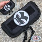 Collini Coltelleria Collini - Small Zip Pouch + PVC Morale Patch - Round Grey Knives.it - Gadget