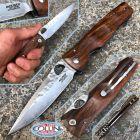 Mcusta Mcusta - Elite Tactility knife - SPG2 Powder Steel - Iron Wood - MC-0125G - coltello