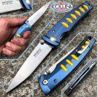 Mcusta Mcusta - Serie Katana knife - MC-0042C - Blue/Orange - coltello