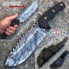 WanderTactical Wander Tactical - Uro - Black Blood - Brown Micarta - custom knife