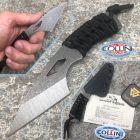 WanderTactical Wander Tactical - Scrambler - Raw Finish & Night Blue Micarta - custom knife