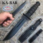 Ka Bar Ka-Bar - Short Black Utility - 02-1258 - Kydex Sheath - coltello