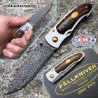 Fallkniven Fallkniven - PD knife 35 years -  Damasco SGPS a 67 strati - Ironwood - coltello
