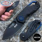 MKM MKM & Fox - Isonzo knife clip point nero by Vox - MK-FX03-3PBK - coltello