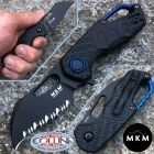 MKM MKM & Fox - Isonzo knife Hawkbill nero by Vox - MK-FX03-1PBK - coltello