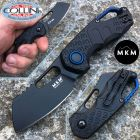 MKM MKM & Fox - Isonzo knife Cleaver nero by Vox - MK-FX03-2PBK - coltello