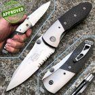 Microtech Microtech - Lightfoot Linerlock knife - Titanium e Carbon Fiber - Collezione Privata - coltello
