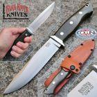 Bark River Bark River - Sandstorm Knife - CPM154 Steel - Green Canvas - BA07150MGC - coltello