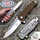 Maserin Maserin - Reactor knife - Brown G10 - Design by Nicolai Lilin - 681/G10M - coltello