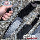 WanderTactical Wander Tactical - Raptor Raw Finish knife - Black Paracord - coltello artigianale