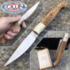 No Brand Deroma - Pattada coltello artigianale in corno di montone - coltello artigianale