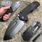 MedFordKnives Medford Knife and Tools - Praetorian Scout M/P D2 knife - Black PVD Blade and Black G10 - coltello