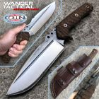 WanderTactical Wander Tactical - Uro knife - SanMai V-Toku2 & Brown Micarta - special custom