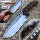WanderTactical Wander Tactical - Uro knife - SanMai V-Toku2 & Brown Micarta - coltello custom