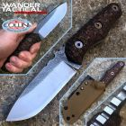 WanderTactical Wander Tactical - Uro - Satin SanMai CoS & Cherry Brown Micarta - custom knife