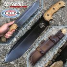 WanderTactical Wander Tactical - Godfather knife - Iron Washed  & Desert Micarta - Versione Standard