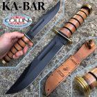 Ka Bar Ka-Bar - USMC Commemorative Presentation Grade Fighting Knife - 1215 - coltello