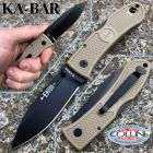 Ka Bar Ka-Bar - Dozier Folding Hunter knife 4062CB - Desert Zytel Handle - coltello