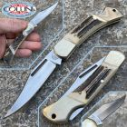 No Brand Carl Schlieper - Poket knife - cervo - vintage anni 90' - coltello