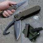 Firefox Battery Fox - FKMD - M.P.S.K. Rescue Utility Nato Green - FX-444/2ROD - coltello