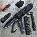 Firefox Battery Fox - FKMD - M.P.S.K. Survival Rescue Black - FX-444/3RB coltello