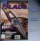 Blade Magazine Rivista - Blade - Dicembre 2002 - °RC