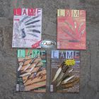 """Lame D'autore Pacchetto 4 riviste """"Lame D'Autore"""" collezione 2005"""
