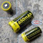 Nitecore Nitecore - NL166 - Batteria ricaricabile al Litio 16340 / RCR123A 3.7V 650mAh Li-Ion