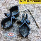 Nitecore Nitecore - Kit Attacco Fucile Universale da 18mm e 25mm per Torce - GM03 - Accessori