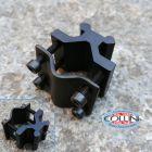 No Brand Keen Ray - Adattatore universale per canna con slitta - Attacco Fucile - Accessorio torce