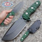 WanderTactical Wander Tactical - Lynx Raw & Micarta Green - coltello custom